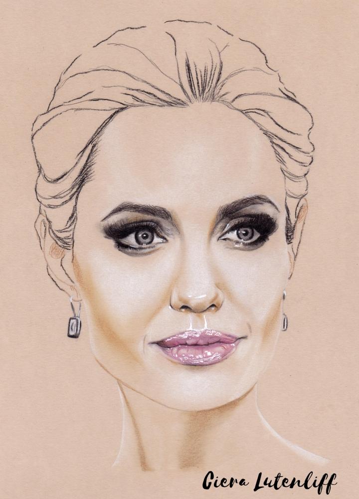 Angelina Jolie par LaMineHysterique